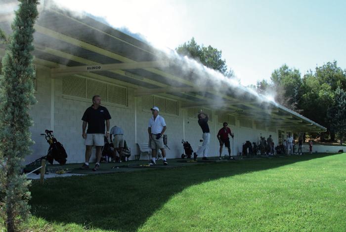 Climatización de zonas deportivas